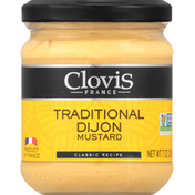 Clovis Mustard, Traditional Dijon, Classic Recipe