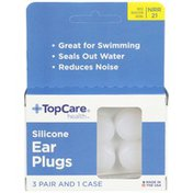 TopCare Silicone Ear Plugs