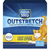 Fresh Step Concentrated Clumping Litter, Febreze Freshness