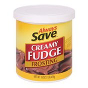 Always Save Ready-To-Serve Creamy Fudge Frosting