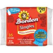 Borden White American Singles $2.49 Prepriced Cheese