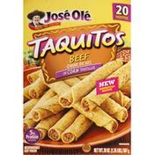 José Olé Beef Corn Taquitos