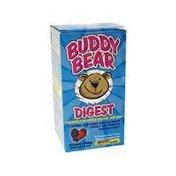 Renew Life Buddy Bear Chewable Digestive Enzyme For Kids, Berry Blast