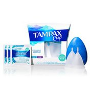 Tampax Menstrual , Starter Kit, With Carrying Case And Wipes