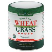 Green Foods Wheat Grass Shots, Organic & Raw