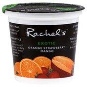 Rachels Yogurt, Lowfat, Orange Strawberry Mango