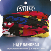 Evolve Multifunctional Headwear, Half Bandeau