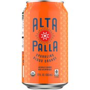 Alta Palla Organic Sparkling Blood Orange Beverage