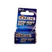 Homeline 9v Super Heavy Duty Battery