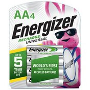 Energizer Rechargeable AA Batteries, Double A Rechargeable Batteries