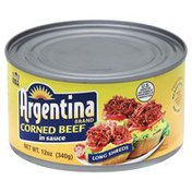 Argentina Corned Beef, Long Shreds, in Sauce