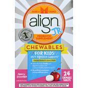 Align Jr. Chewables for Children, Daily Probiotic Supplement for Kids Digestive