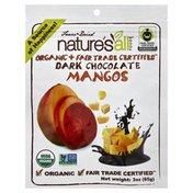 Nature's All Foods Mangos, Organic, Freeze-Dried, Dark Chocolate