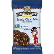 Immaculate Baking Triple Chocolate Cookies