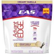 EAS Creamy Vanilla EAS AdvantEDGE Protein Powder Creamy Vanilla Powder Bag
