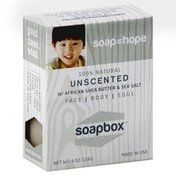 Soapbox Soap, Unscented