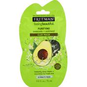 Freeman Clay Mask, Purifying Avocado + Oatmeal
