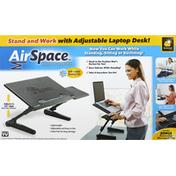 BulbHead Laptop Desk, Adjustable, AirSpace