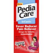 PediaCare Fever Reducer/Pain Reliever, Drops, Luden's Cherry Taste