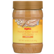 Hy-Vee Creamy Peanut Butter Spread With Honey
