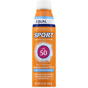 Equaline Suncreen, Continuous Spray, SPF 50