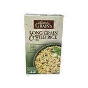 Earthly Grains Garlic & Herb Long Grain & Wild Rice Mix