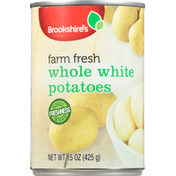 Brookshire's Potatoes, Whole White , Farm Fresh