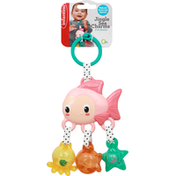 Infantino Fish Rattle, Jingle Sea Charms