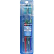 Equaline Toothbrushes, Regular, Soft, Value Pack
