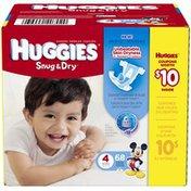 Huggies Snug & Dry Size 4 Diapers