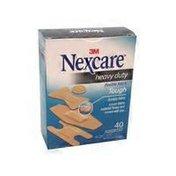 Nexcare Assorted Sizes Heavy Duty Fabric Bandages