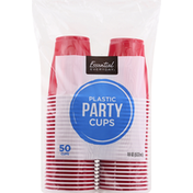 Essential Everyday Party Cups, Plastic, 18 Ounces