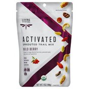 Living Intentions Trail Mix, Sprouted, Activated, Wild Berry