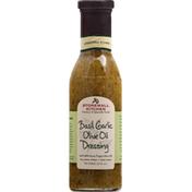 Stonewall Kitchen Dressing, Basil Garlic Olive Oil