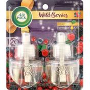 Air Wick Scented Oil Refills, Wild Berries