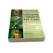 Nutri Books Encyclopedia Of Natural Pet Care