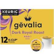 Gevalia Dark Royal Roast Dark Roast K-Cup Coffee Pods