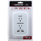 Monster 2 Outlet, Surge Protector, Home/Office