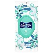 Always Feminine Wipes, Fresh & Clean, Soft Pack