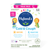 Hyland's 4Kids Cold & Cough Grape, Day & Night Value Pack