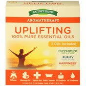 Nature's Truth Aromatherapy Uplifting Specialty Variety Pack 100% Pure Essential Oils