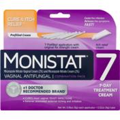 MONISTAT 7 Vaginal Antifungal Combination Pack 7-Day Treatment Cream