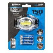 Dorcy Active Series 150 Lumen COB LED Headlamp - Multi-mode