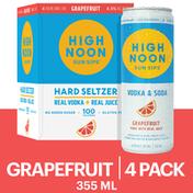 High Noon Grapefruit Vodka Hard Seltzer
