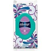Always Feminine Wipes, Spring Blossom, Soft Pack