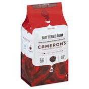 Camerons Coffee, Handcrafted, Whole Beans, Buttered Rum