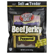 Western Family Beef Jerky, Peppered
