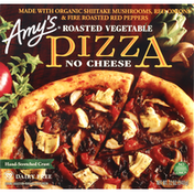 Amy's Kitchen Pizza, No Cheese, Hand-Stretched Crust, Roasted Vegetable