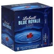 Labatt Blue Royale Light Canadian Style Lager, 12 Pack, Box