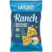 LATE JULY® Snacks Multigrain Dude Ranch Tortilla Chips